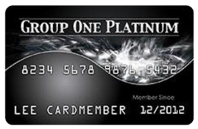 Group One Platinum Freedom Card